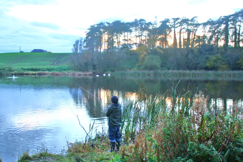 Coarse Fishing Broadwater Canal Antrim Northern Ireland